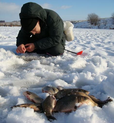 Какие снасти для зимней рыбалки