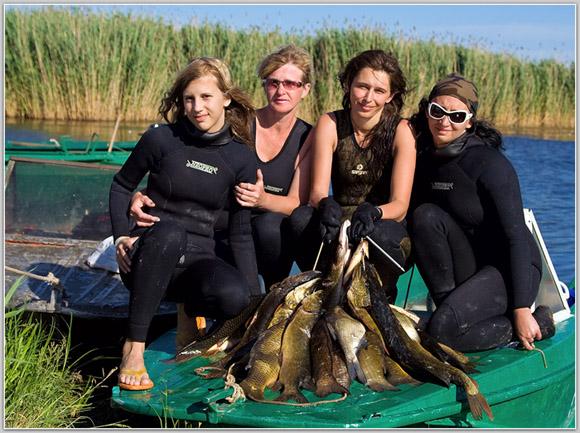 рыбалка подводная рыбалка на волге