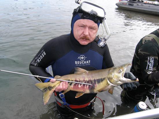 Открытие сезона подводной охоты
