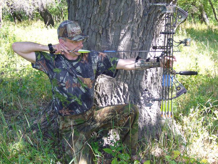 Стрельба из лука охота с луком охота