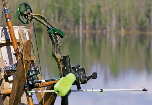 сделать лук для рыбалки в