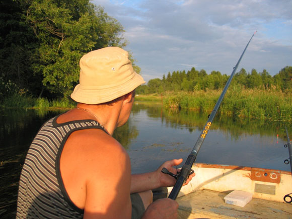 рыбалка на сома весной