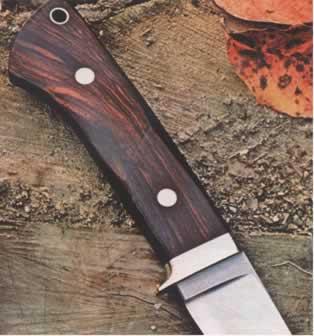 Как сделать рукоятку на охотничий нож стрижка горячими ножницами цена хабаровск