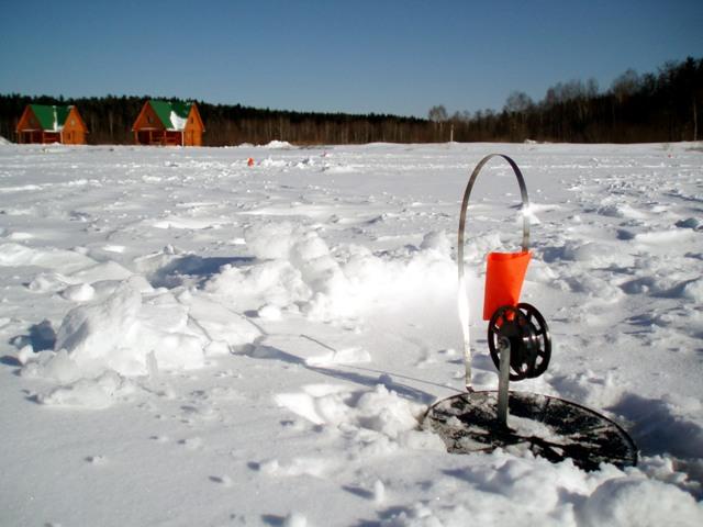 Зимняя ловля щуки на флажки