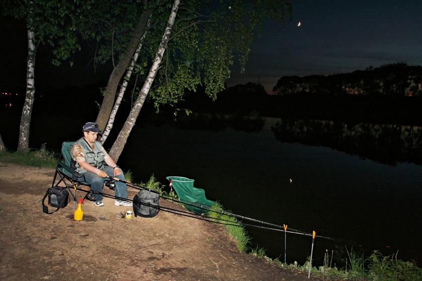 рыболовное место для рыбалки