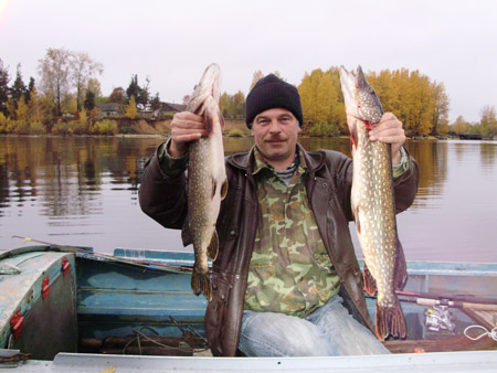 Рыбинское водохранилище, рыбалка