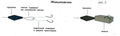 способ ловли сазана на жмых