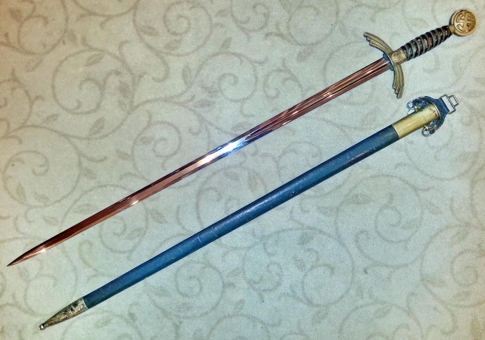 Парадный меч офицера Люфтваффе образца 1934 года
