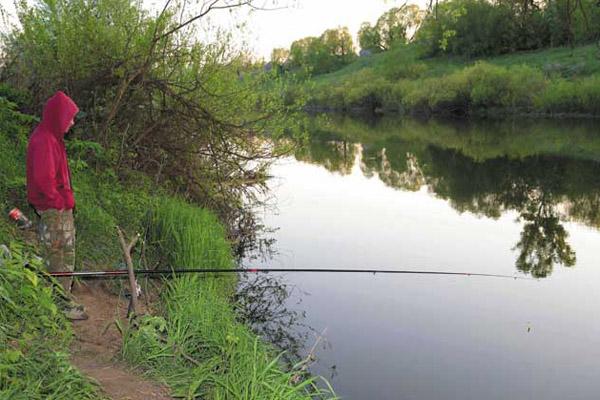 длина удилища для поплавочной удочки