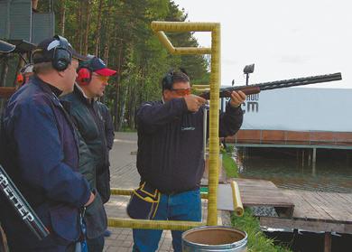 техника стрельбы