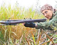 В лес Кикимора не только за трофеями ходит: Арбалетной охотой Акилина Саватеева по прозвищу Лесная Кикимора занимается более десяти лет