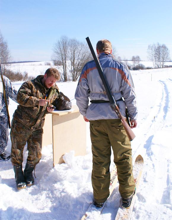 Соревнования охотников, охотничий биатлон в Долголуговском охотхозяйстве, чемпионат по охотничьему биатлону