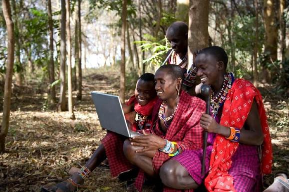 как люди живут в африке фото