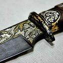 Авторское художественное оружие, охотничьи ножи