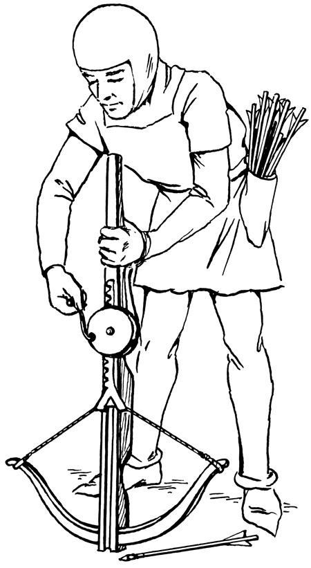 Арбалеты, история арбалета