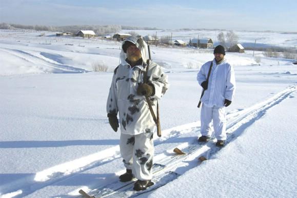 Зимняя охота. Охотничьи лыжи.