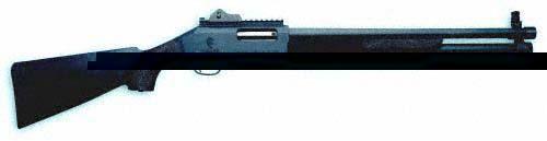 Ружье SDASS TACTICAL оснащено диоптром и планкой Пикатини