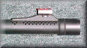 Мушка на ружье Valtro PM-5, оснащенного прицелом ghost ring
