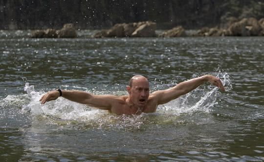 Путин в Тыве