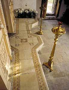 Керамос-Арт: Реставрационные работы в церкви Святого Трифона