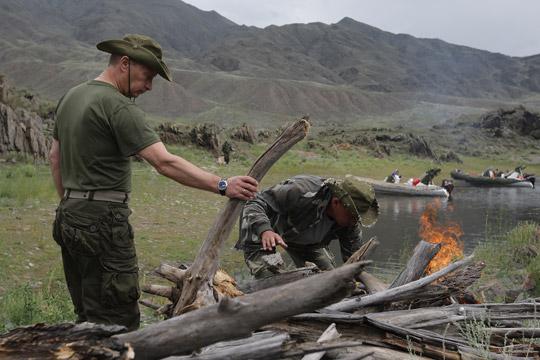 Туркомплекс в Путинских местах Тувы