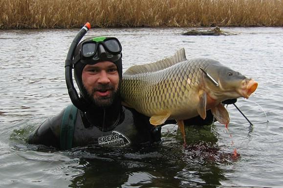 Подводная охота: особенности рыбалки с ружьем на сома, сазана и судака