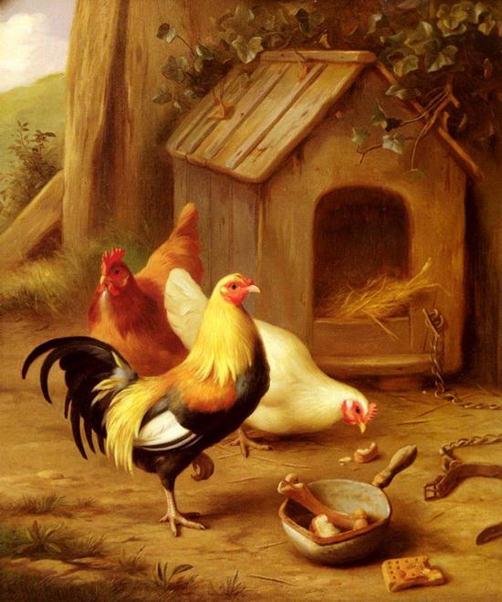 Картины от художника Edgarda Hunta