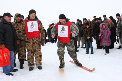 Охотничий биатлон, соревнования в День Святого Трифона