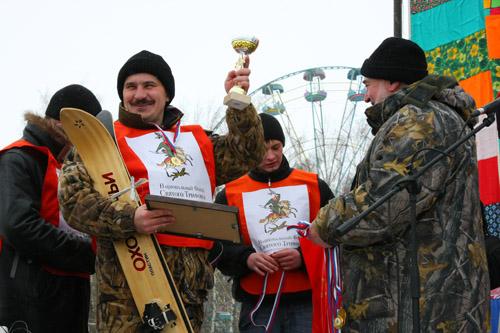 Соревнования по охотничьему биатлону