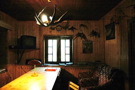 Охота в Долголуговском - домик охотника