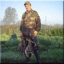 Охота в Долголуговском