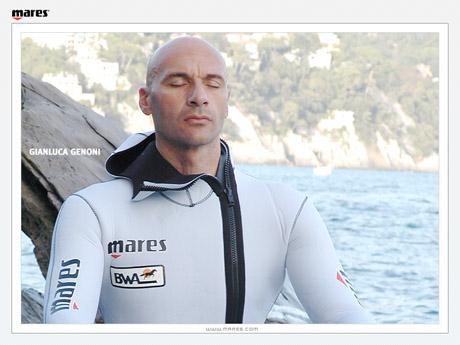 Жанлюка Генони (Gianluca Genoni) поставил новый мировой рекорд по задержке дыхания