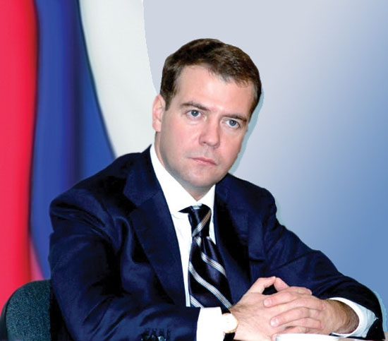 Медведев на Федеральном собрании