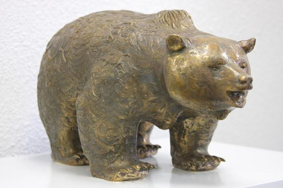 Музей охоты и рыболовства, скульптура