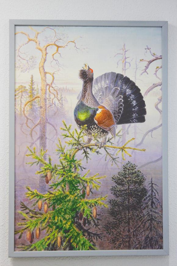 Музей охоты и рыболовства, художник В.Горбатов