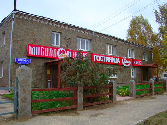 Весьегонск, гостиница Весь