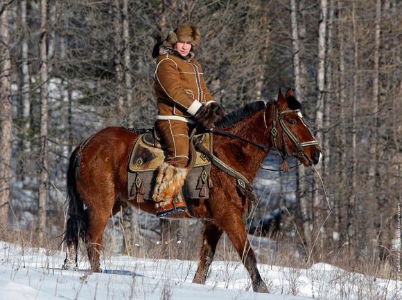 Путин в Хакасии