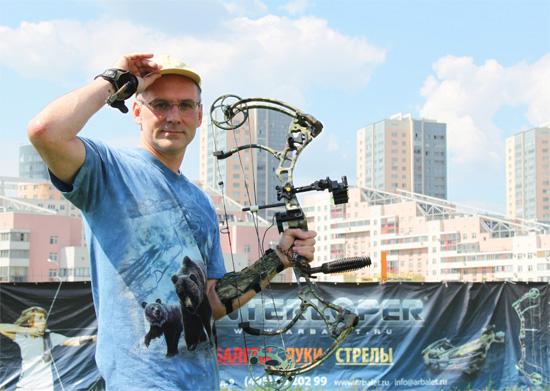 Андрей Шалыгин - Bear Archery - фото Ольга Фрунзэ