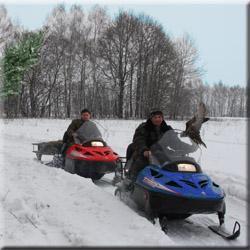 Поездки на снегоходах