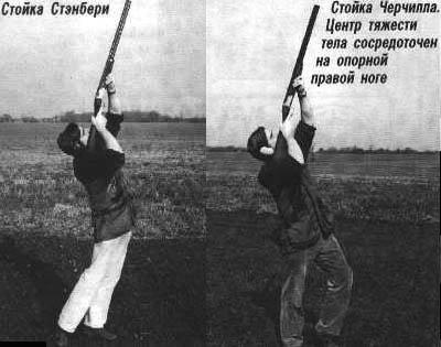 Стойки  при  стрельбе